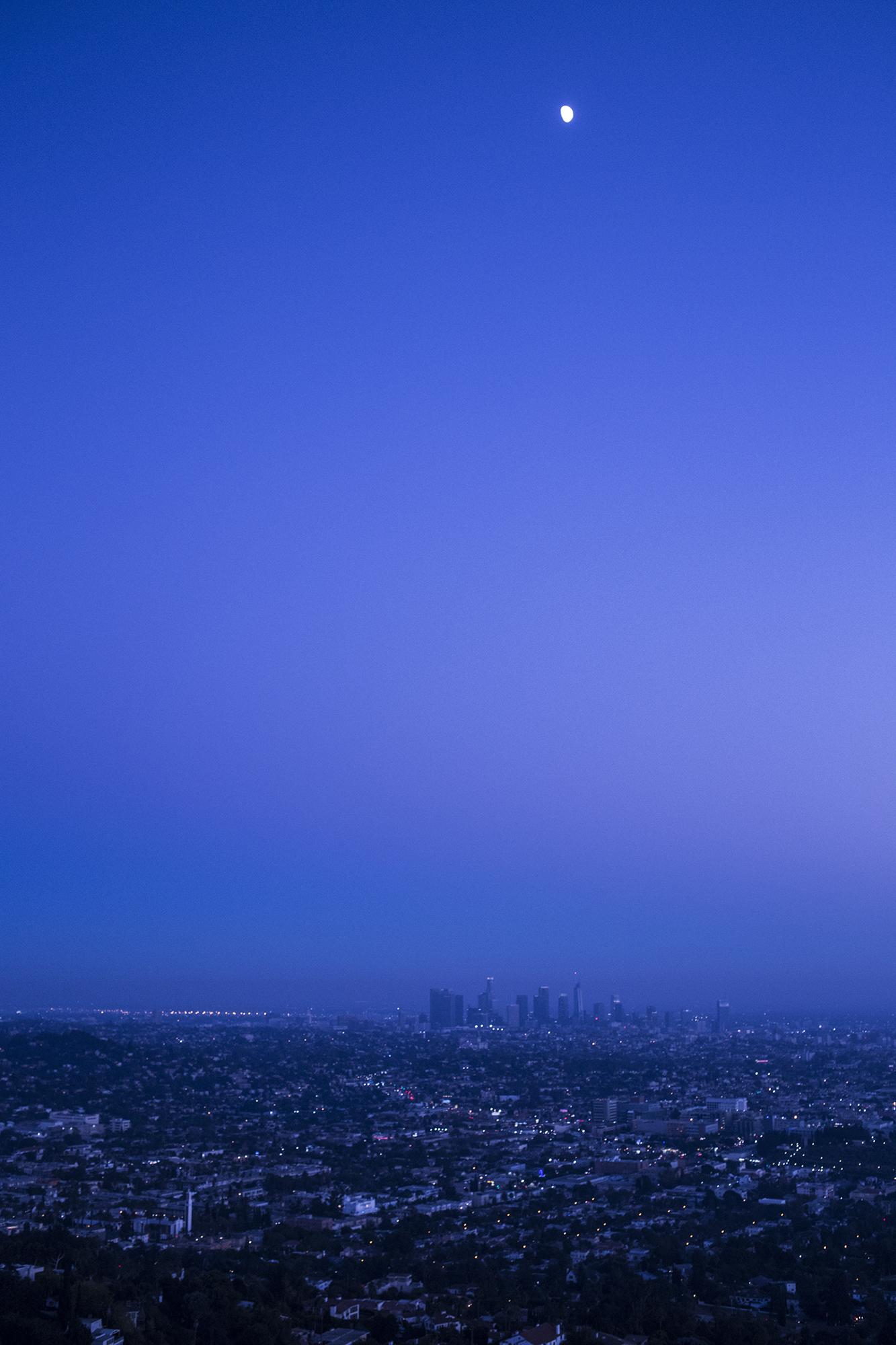 Moon Over LA by Rich J. Velasco