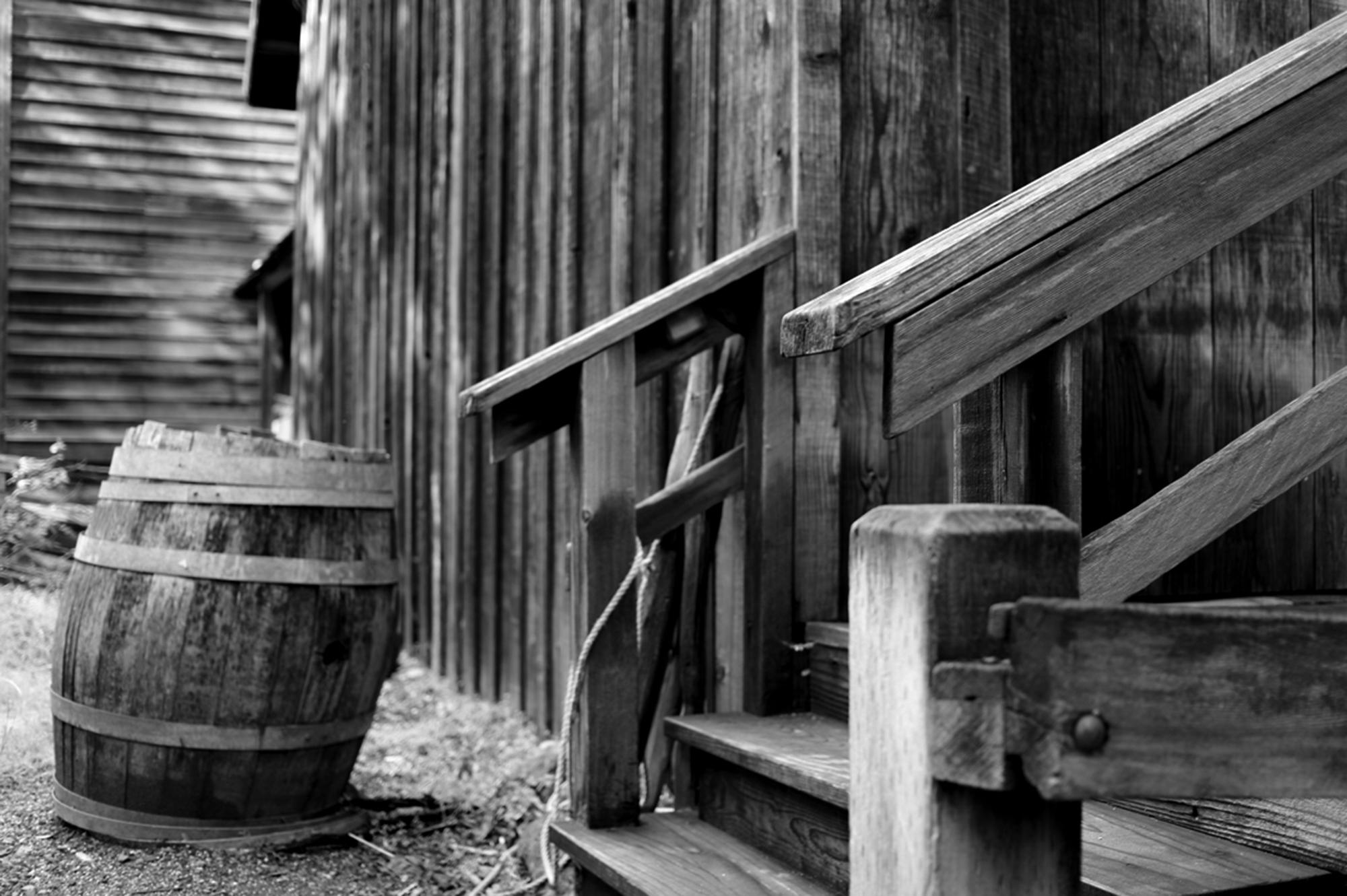 Oak Barrel by Rich J. Velasco