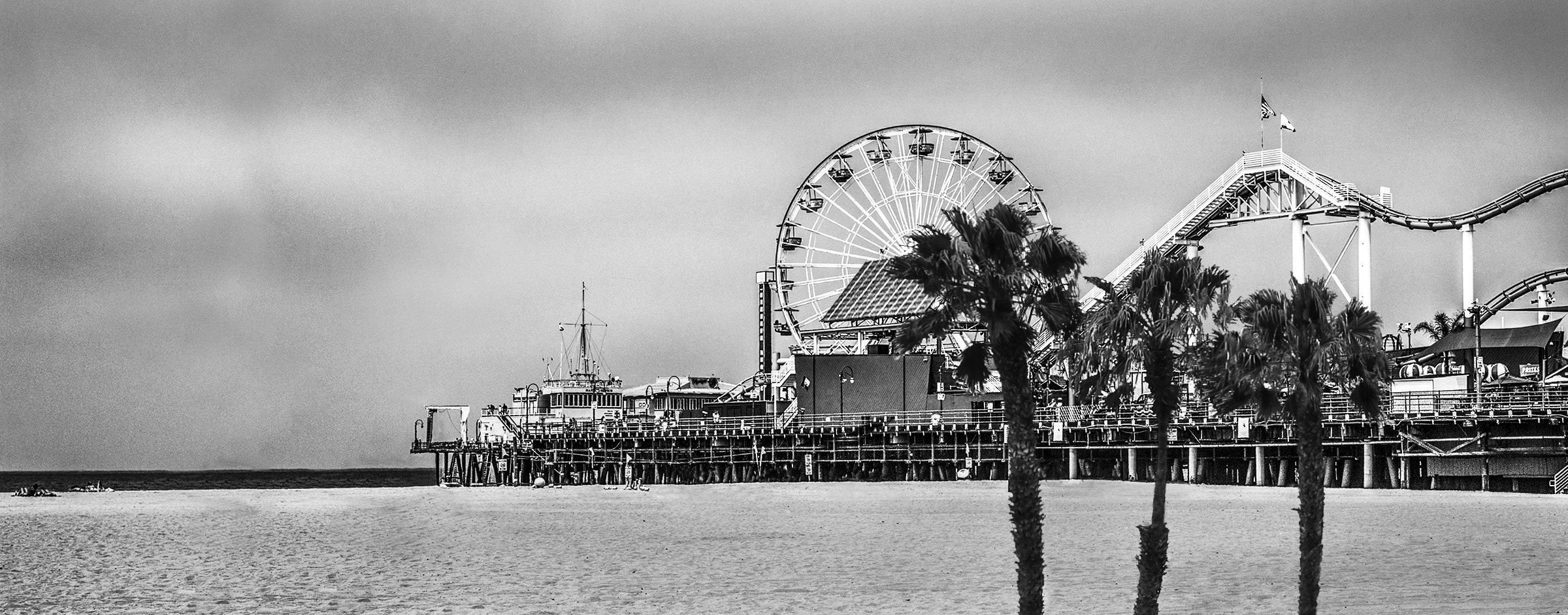 Santa Monica Fun by Rich J. Velasco