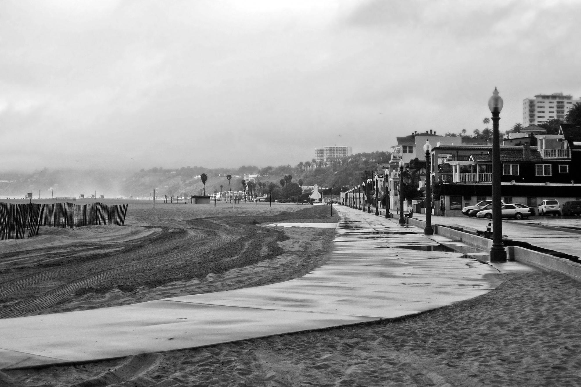 Santa Monica Path by Rich J. Velasco