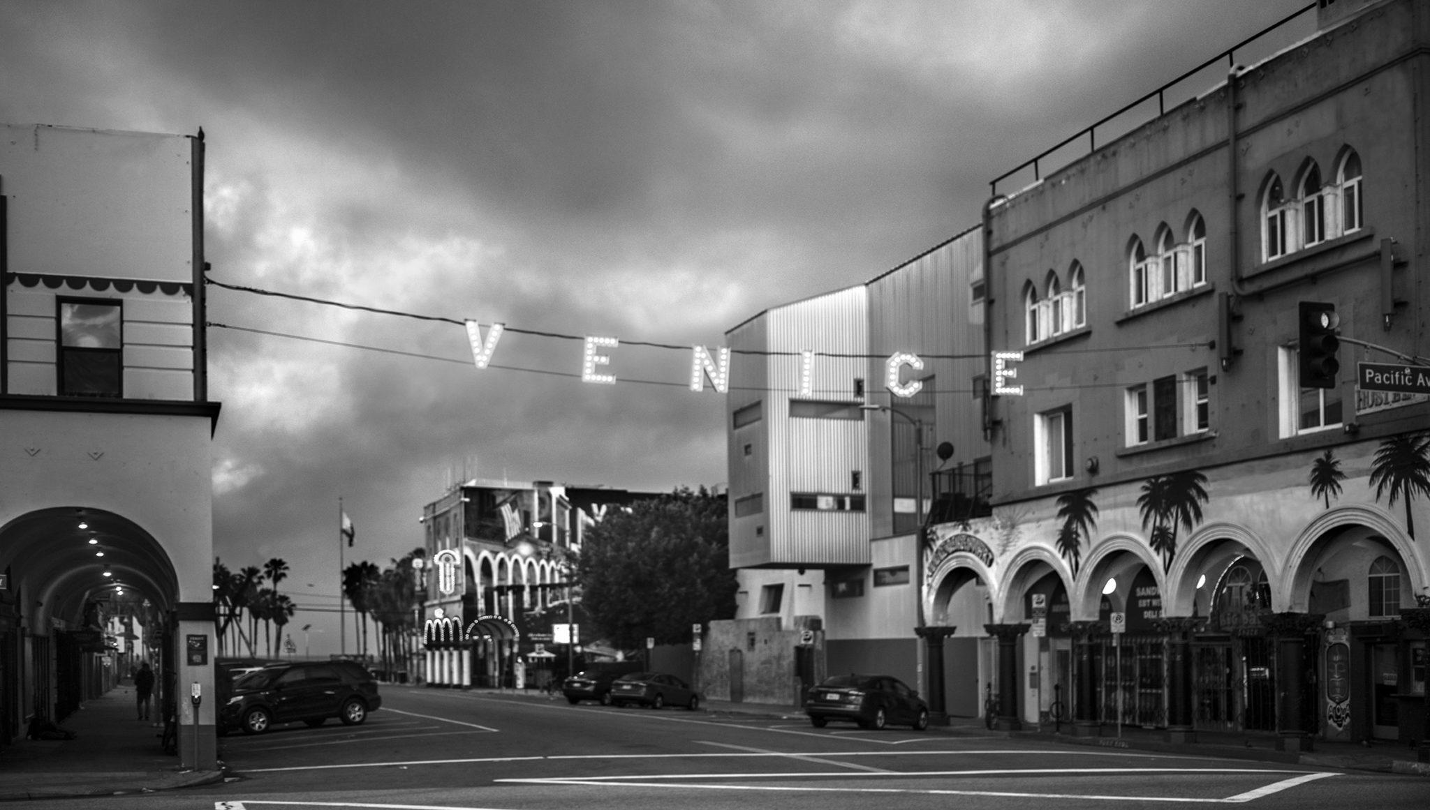 Venice Holiday bw by Rich J. Velasco